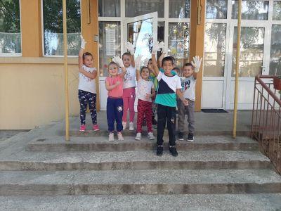 Да почистим България за един ден - ДГ Виолина - Петърч